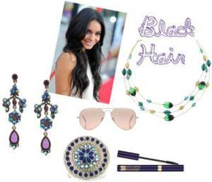 black 300x257How to Accessorize by Hair Color