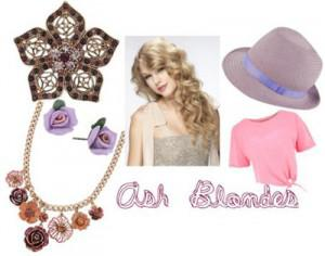 ashblonde 300x236How to Accessorize by Hair Color