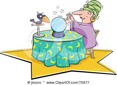 Crystal ball clipart