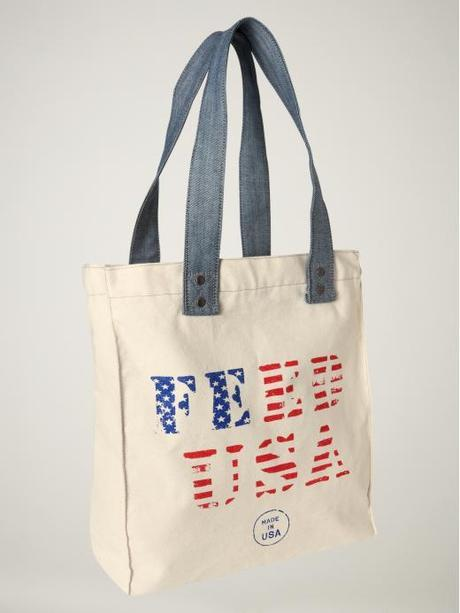 Gap Feed Usa Canvas Tote