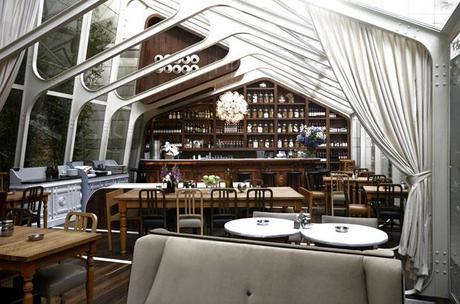Autoban designed cafe in Istanbul