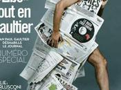 Newspaper Pages Fashion