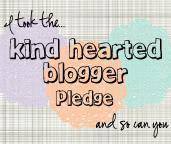 THE KIND-HEARTED BLOGGER CAMPAIGN (No Nails in this post)