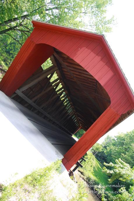 Indiana Covered Bridges: Carroll County Lancaster Covered Bridge