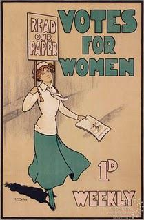 Suffrage struggle online