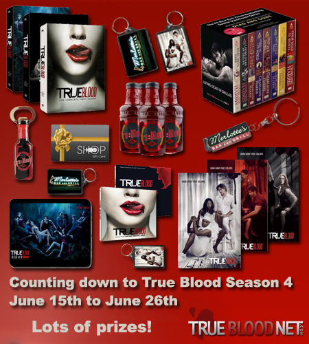 Truebloodnet.com Twitter Contests:Countdown to True Blood Season 4