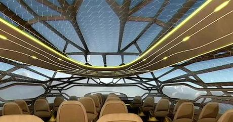 The See-Through Airplane Of The Future