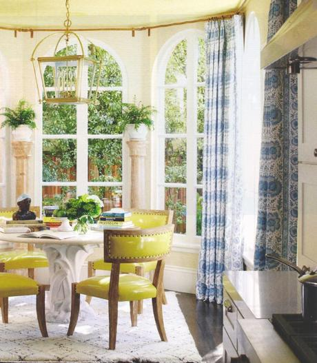 Patent Lime Dining Chairs