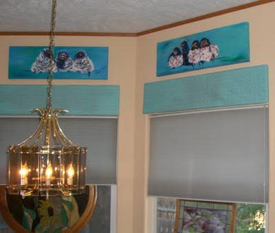 Cornices with Fabric Coverings the Easy Way