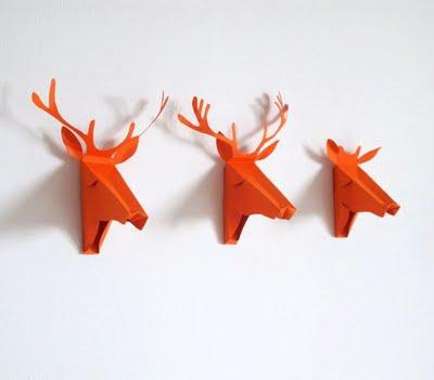 Faux Deer Greeting Card