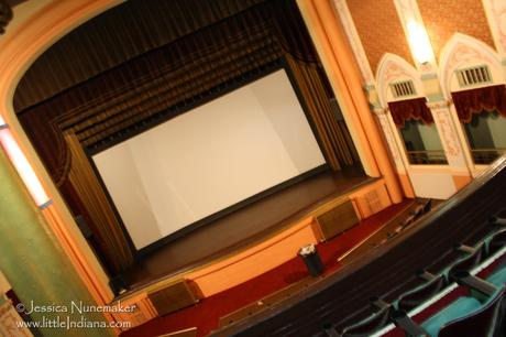 Eagles Theater in Wabash, Indiana: Stage and Screen