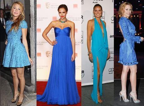 BLUE DRESSFab Find Friday: Pretty in Blue