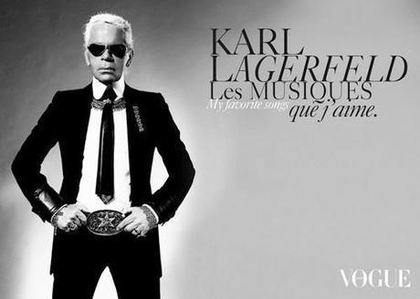 What Fashion Designers Wear: Karl Lagerfeld