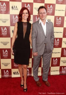 Carrie Preston and Michael Emerson attend Los Angeles Film Festival