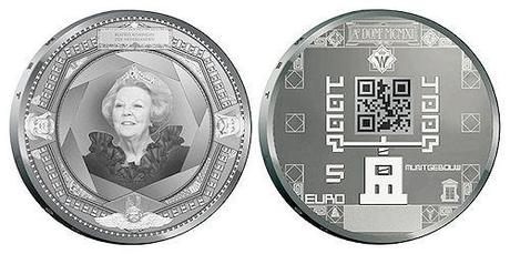 World's First QR Code Coin