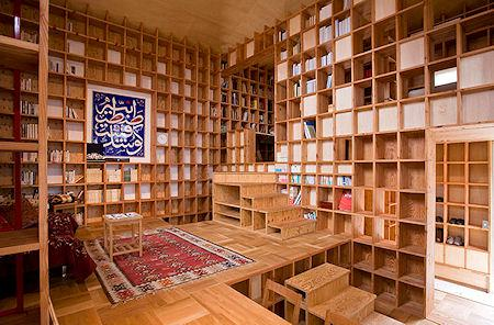 A House Made Of Bookcases