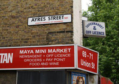 From the Archives: Ayres Street SE1
