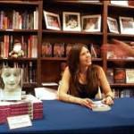 Susan H signing books