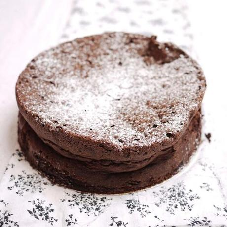 Sunken Chocolate Cake