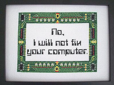 Cross-stitch for Nerds