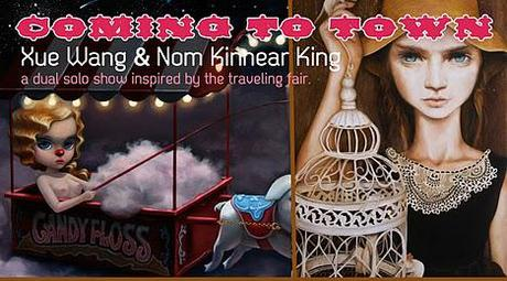 Xue Wang & Nom Kinnear King Exhibition — Coming To Town