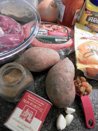 Pork Tenderloin Medallions with apricots - Ingredients