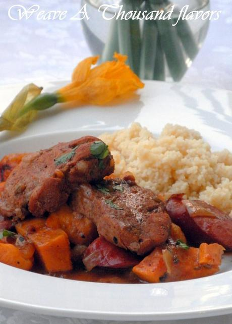 Pork Tenderloin Medallions with apricots - 04