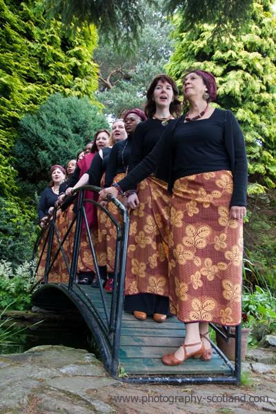 Photo - Zwadi Alba, singing group