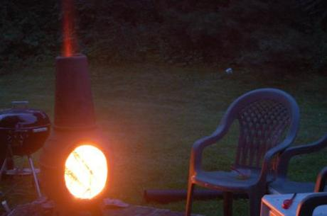 Chiminea Fire