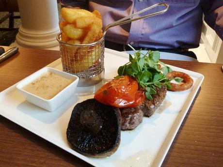 Winchester Wessex Restaurant food