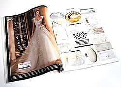 best UK wedding magazine review layout and design