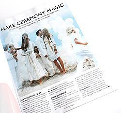 wedding magazine advice feature from You and Your Wedding