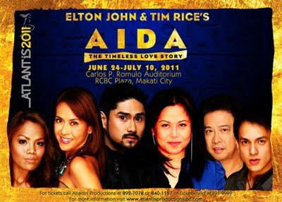 Atlantis Productions' Aida opens this Friday, June 24