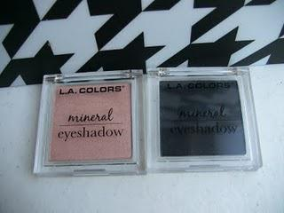 L.A Colors Eyeshadow Swatches and Review