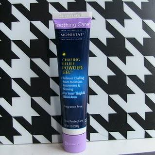 Keeping it Smooth--And Not Just Down There! - Monistat Chafing Relief Powder Gel Review
