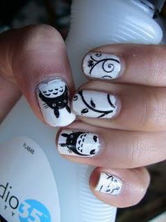 NOTW: Totoro Nails! :D