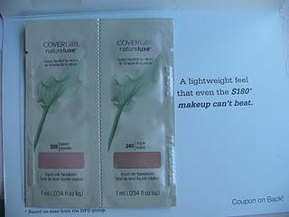 First Impression: Covergirl NatureLuxe Foundation