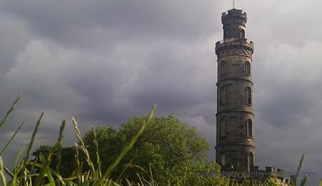 Photo - Nelson monument on Calton Hill, Edinburgh
