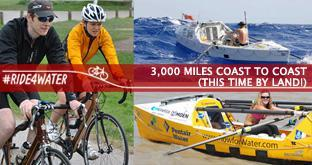 Racing Across America For Safe Drinking Water