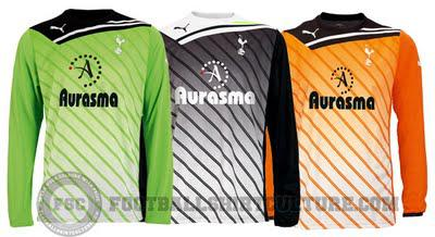 2011-12 Tottenham Kits Released