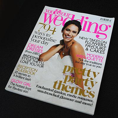 UK wedding magazine review You and Your Wedding