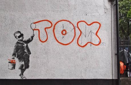 tox 460x297 New Banksy piece mentions Tox