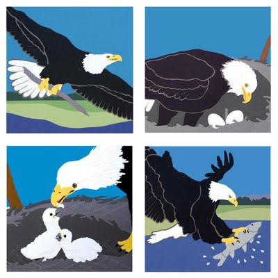 Bald Eagle Cards for July 4th