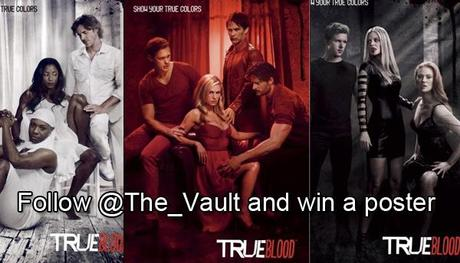 Follow The Vault on Twitter and win a True Blood Season 4 Cast Poster