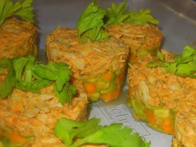 Tasty Tuesday - Crab Mango Avocado Tower Recipe