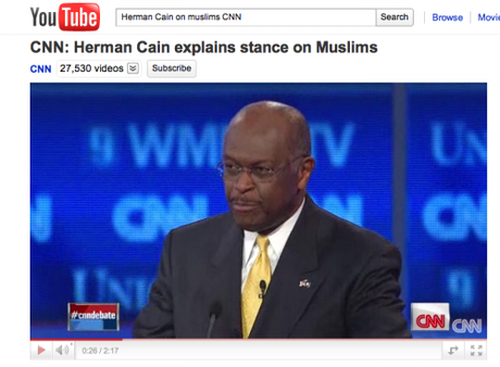 Herman Cain, I Don't Like You