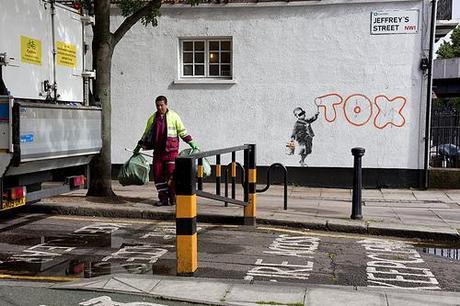 Banksy TOX in Camden