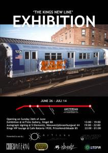 NYCs King of Graffiti comes to Amsterdam