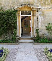 Open door at Hidcote Manor