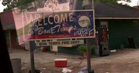 Welcome to Bon Temps Sign